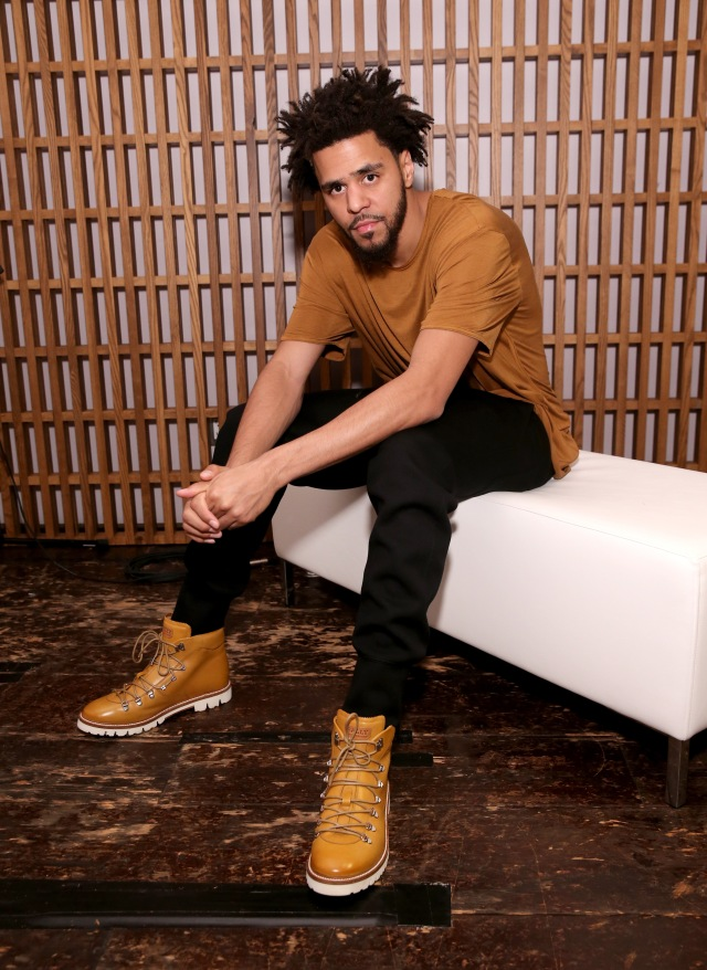 NEW YORK, NY - AUGUST 05: J. Cole attends BALLY's 'Off the Grid' New York Premiere on August 5, 2015 in New York City. (Photo by Neilson Barnard/Getty Images for BALLY)